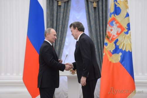 Путин Кивалов