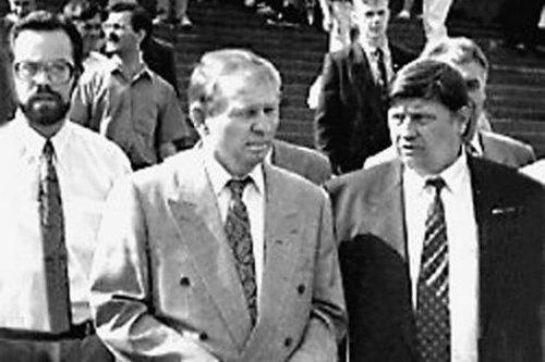 Дмитрий Табачник, Леонид Кучма и Александр Волков