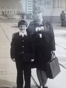 Шкиряк с мамой