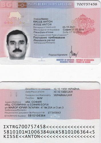 паспорт Киссе