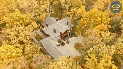 Дом Михаила Добкина в лесопарке