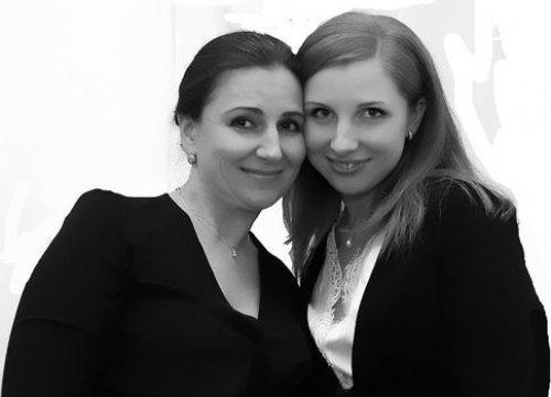 Инна Богословская с дочерью Анастасией