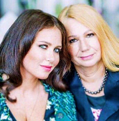 Ирина Бережная с мамой Еленой Петровной