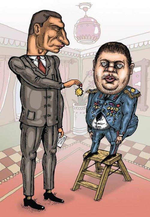 Кличко Карпунцов карикатура