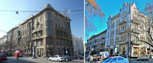 Дом Новикова (слева) и дом Григорьева (справа), приглянувшиеся Урбанским