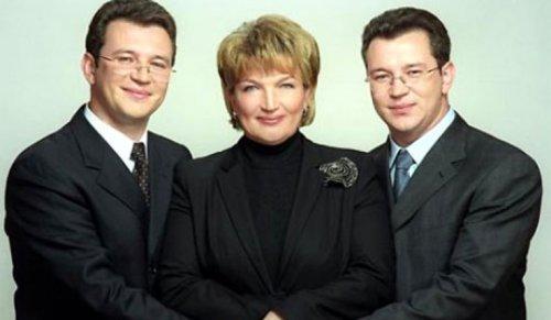 Богатырева с сыновьями