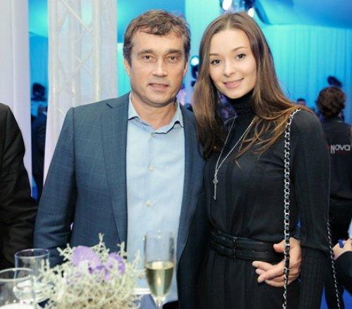 Василий Хмельницкий с супругой Зоей Литвин