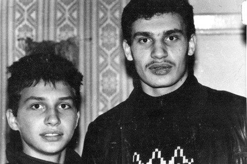 Братья Кличко, конец 80-х