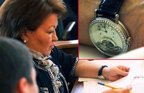 Часы «Classigue Grande Complication» Бахтеевой стоят 95 тысяч евро