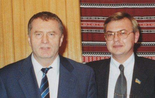 Сергей Буряк в компании Владимира Жириновского