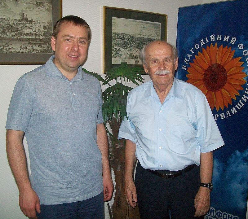 Владимир Костерин и Богдан Гаврилишин