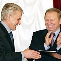 Владимир Литвин и Леонид Кучма