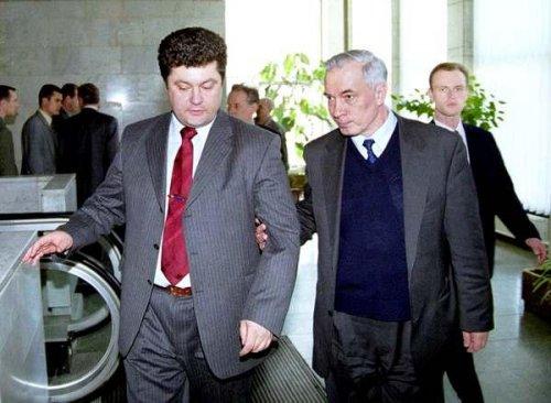 «Отцы» Партии Регионов: Петр Порошенко и Николай Азаров