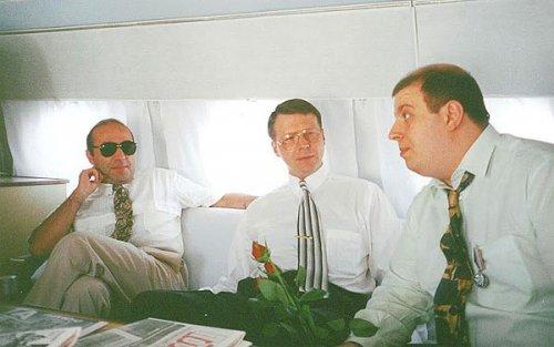Вадим Рабинович, Сергей Осыка и Михаил Бродский, лихие 90-е
