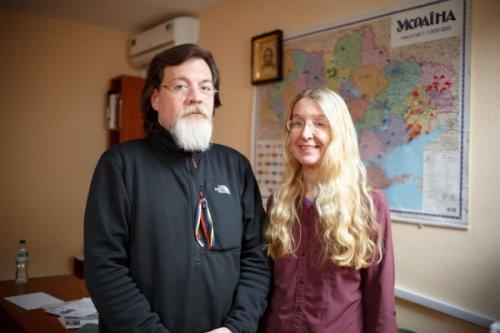 Ульяна Супрун с мужем Марко