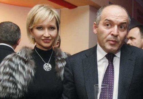 Елена Пинчук (Кучма-Франчук) и Виктор Пинчук