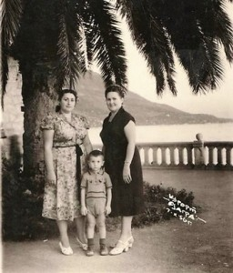 Леонид Черновецкий с мамой