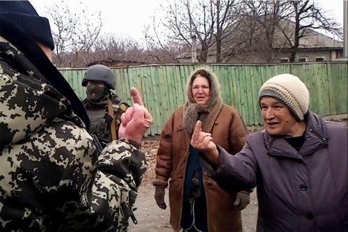 Губернатор Москаль общается с населением Луганской области