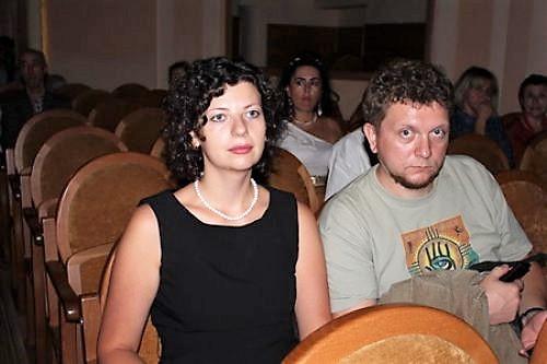 Олеся Островская-Лютая и Тарас Лютый