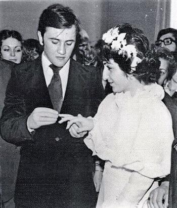 Леонид Черновецкий и Алина Айвазова: торжественный момент