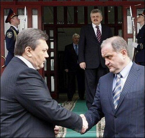 Виктор Янукович и Анатолий Могилев