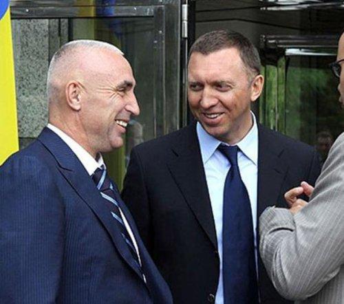 Александр Ярославский и Олег Дерипаска
