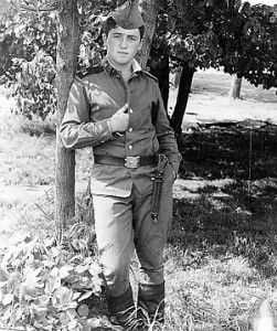 Александр Фельдман на службе в армии