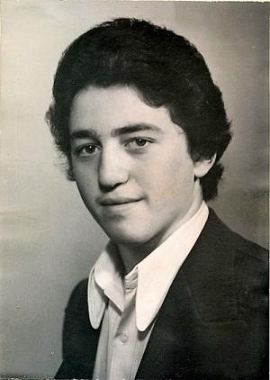 Александр Фельдман, школьные годы