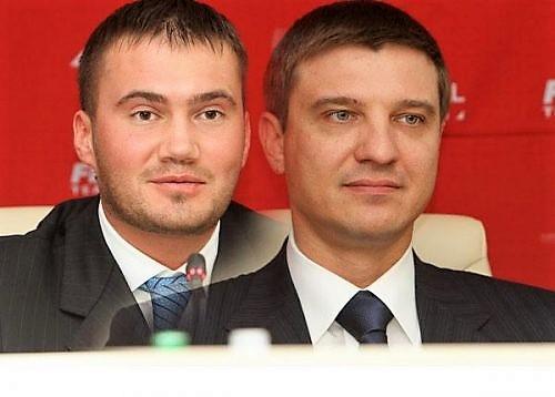 Виктор Янукович-младший и Руслан Цыплаков