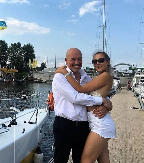 Лиза Тука с Тукой