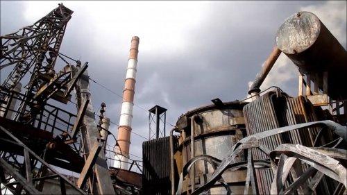 Луганская ТЭС в городе Счастье // Фото: iPress.ua