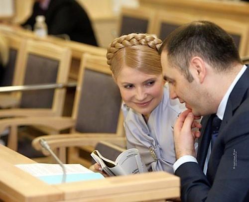 Юлия Тимошенко и Андрей Портнов
