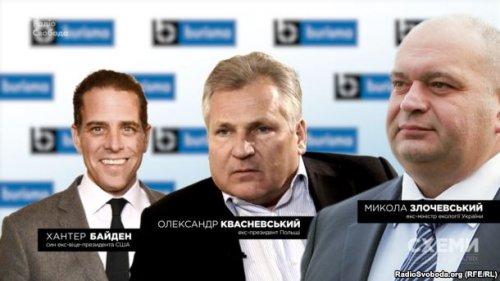 Хантер Байден Александр Квасневский Николай Злочевский