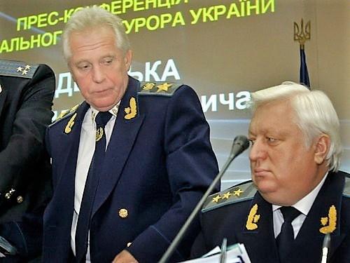 Александр Медведько и Виктор Пшонка