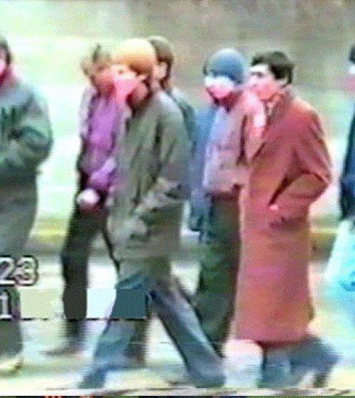 Ахметов и Брагин, кадр из оперативной съемки 1991 года