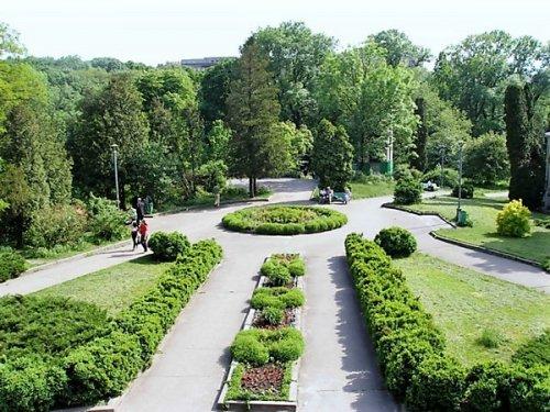 Одесский Ботанический сад таким он был раньше