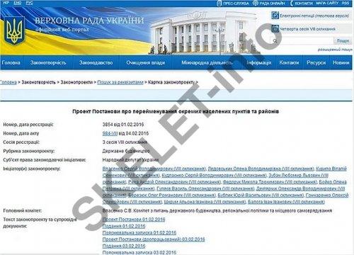 Постанова Ильичевск