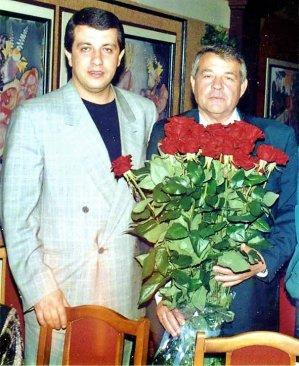 Сергей Батозский со своим отцом