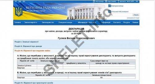декларация Гуляев