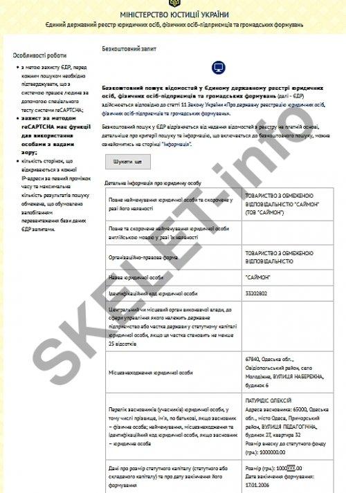 документ Минобороны Гуляев