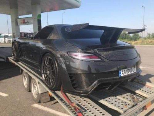 Mansory Mersedes SLS AMG