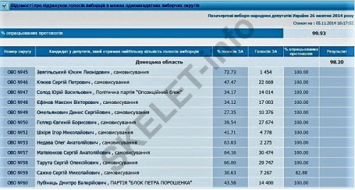 Звягильский выборы