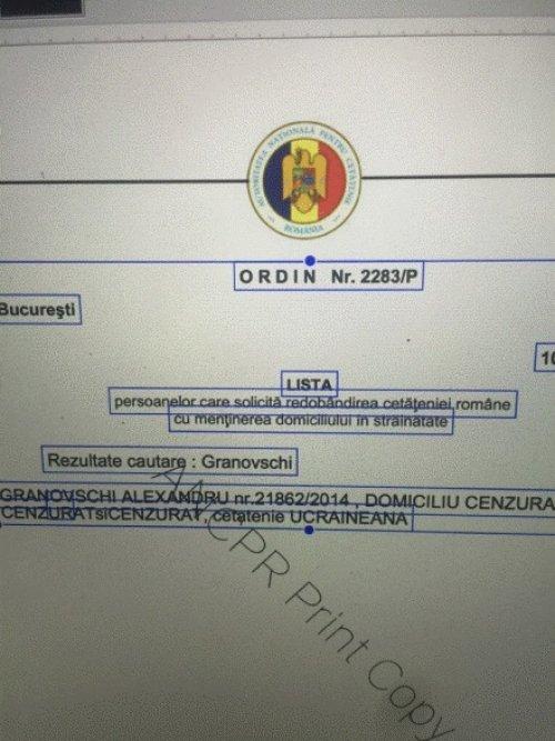 """granovskij rumyn 500x667 - Александр Грановский уже в ЕС: """"смотрящий"""" Порошенко является гражданином Евросоюза?"""