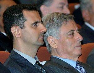 Башар Асад и Абдель Хаддам