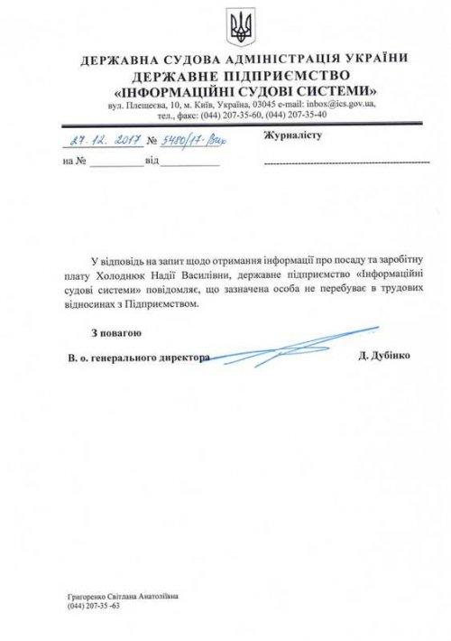 «Мертвая душа» судебной Администрации: Холоднюк сделал свою сестру «смотрящей» в ГСАУ