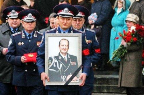 Брыль на похоронах Кравченко