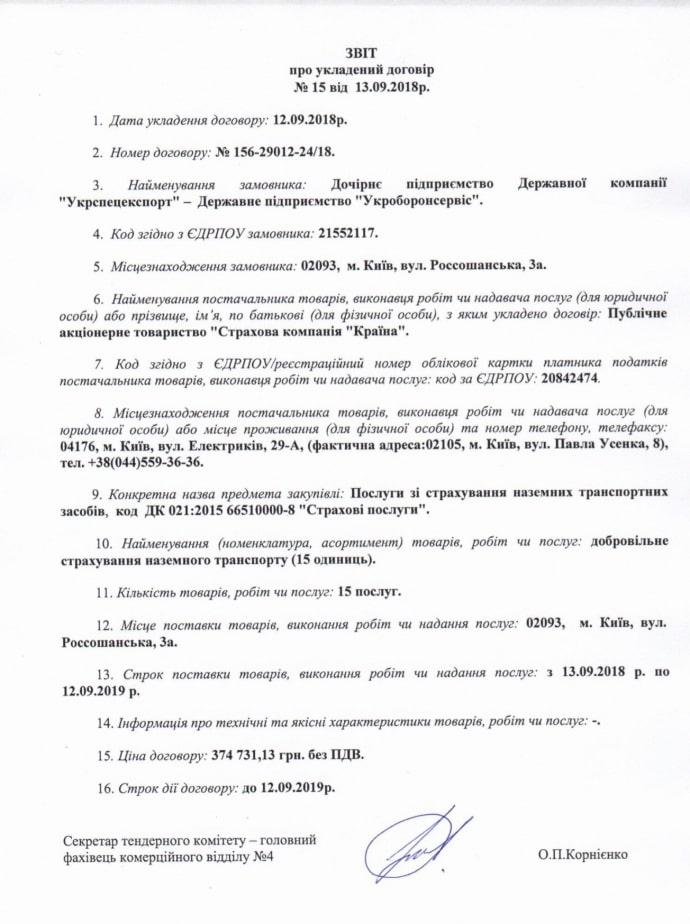 СК «Країна» Порошенко и Ко окажет страховые услуги государственному Укроборонсервису