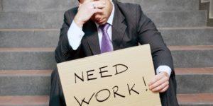 В Украине официально число безработных превысило полмиллиона человек • SKELET-info
