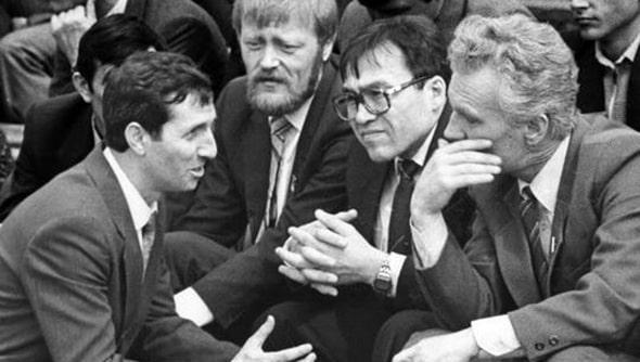 Александр Махмудов с депутатами Донецкого горсовета