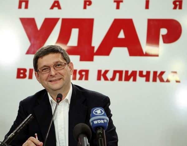 Ковальчук партия УДАР
